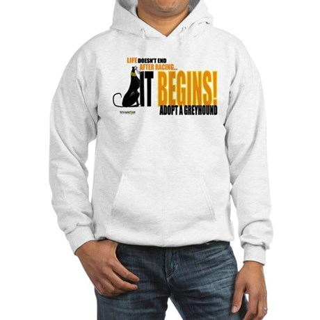 Life After Racing Hooded Sweatshirt