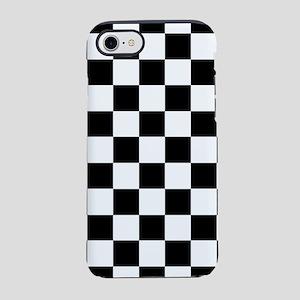 Checker Flag Race iPhone 8/7 Tough Case