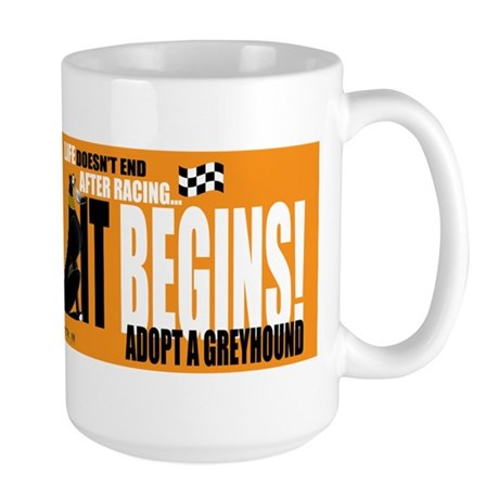 Life After Racing Large Mug