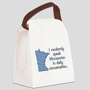 Random Minnesotan III Canvas Lunch Bag