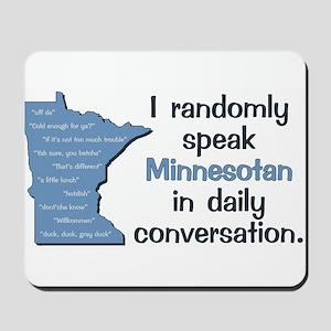 Random Minnesotan III Mousepad