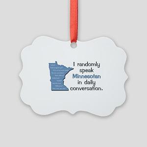 Random Minnesotan III Picture Ornament