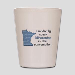 Random Minnesotan III Shot Glass