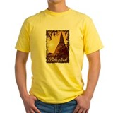Bangkok thailand Mens Classic Yellow T-Shirts