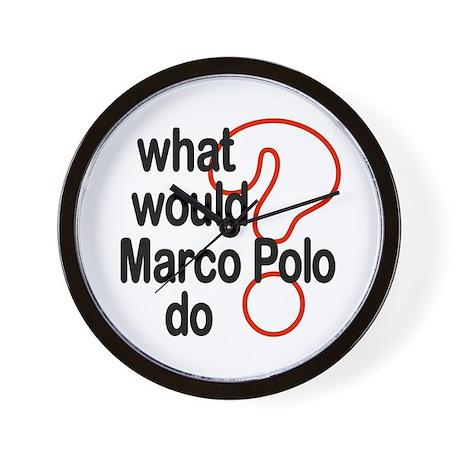 Marco Polo Wall Clock