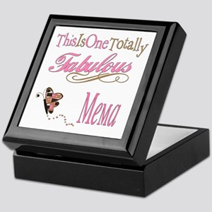 Fabulous Mema Keepsake Box