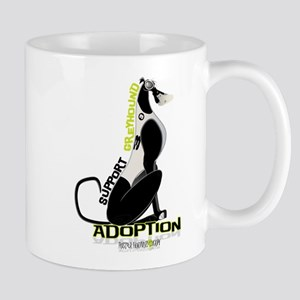 Support Greyhound Adoption Mug