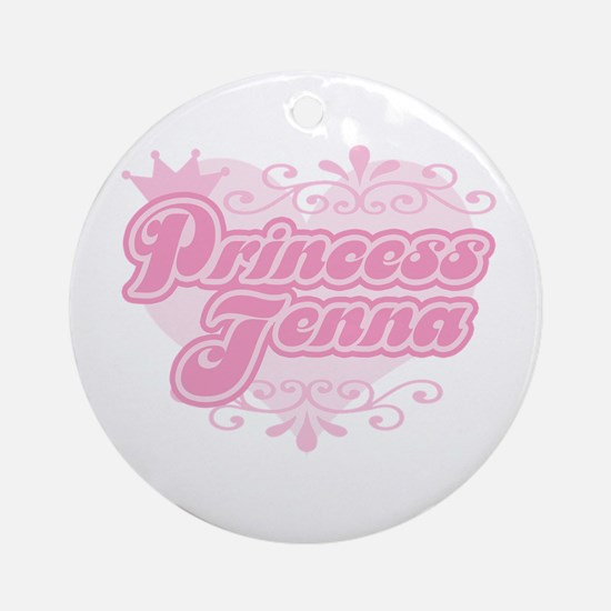 """""""Princess Jenna"""" Ornament (Round)"""