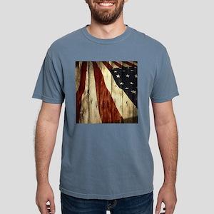 grunge USA flag T-Shirt
