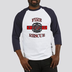 Fire Rescue Baseball Jersey