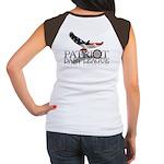 Patriot Dart League Women's Cap Sleeve T-Shirt