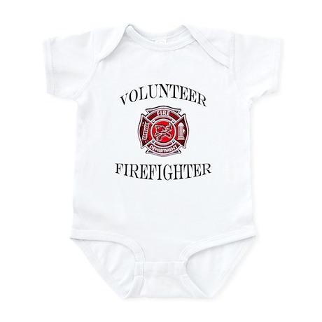 Volunteer Firefighter Infant Bodysuit