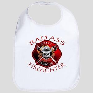 Bad Ass Firefighter Bib