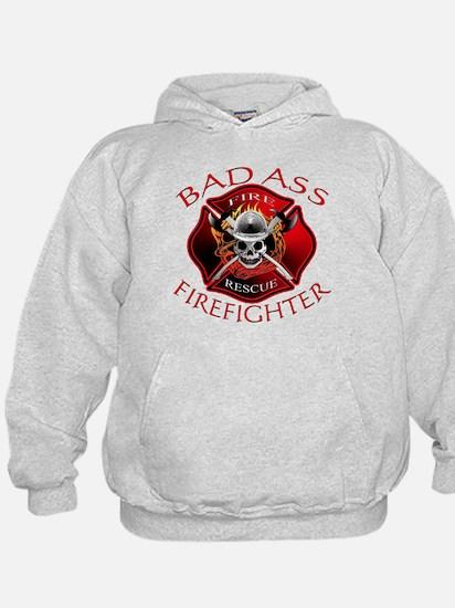 Bad Ass Firefighter Hoodie