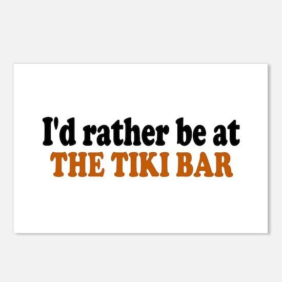 Tiki Bar Postcards (Package of 8)