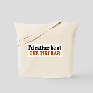 Tiki Bar Tote Bag