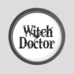 Witch Doctor Wall Clock