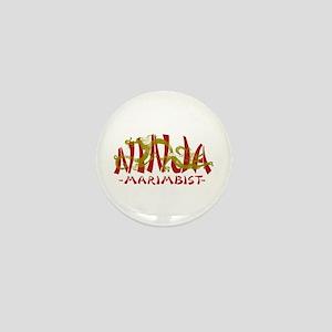 Dragon Ninja Marimbist Mini Button
