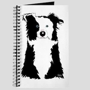 White Border Collie Journal