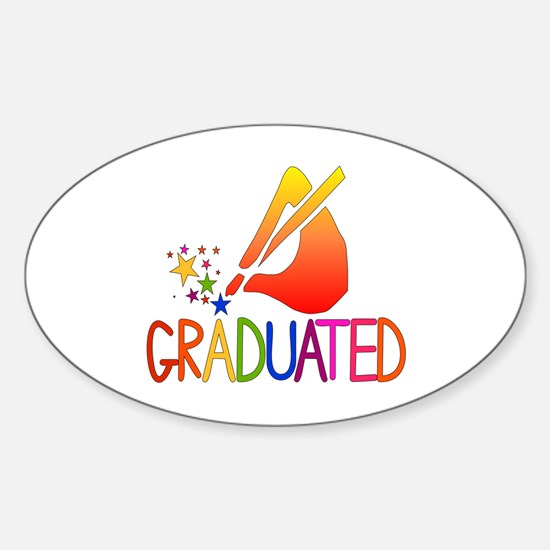 Graduated Oval Decal