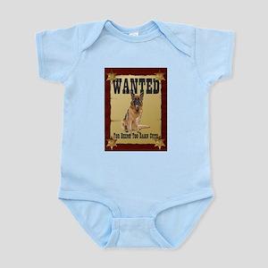 Wanted Poster Belgian Tervuren Infant Bodysuit