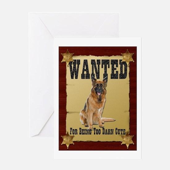 Wanted Poster Belgian Tervuren Greeting Card