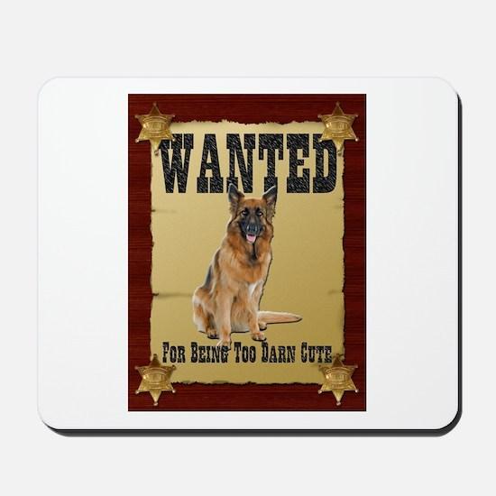 Wanted Poster Belgian Tervuren Mousepad