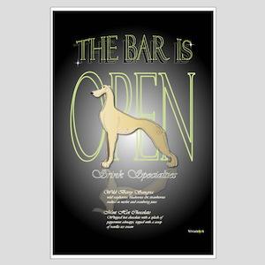 Greyhound Bar Poster B