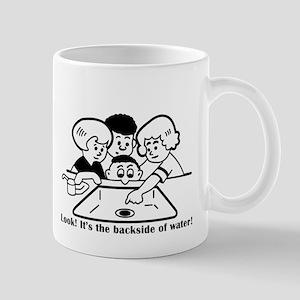 Backside of Water Mug