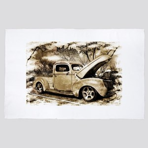 1940 Ford Pick-up Truck 4' x 6' Rug