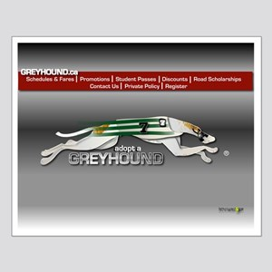 Greyhound Busline Poster A (small)