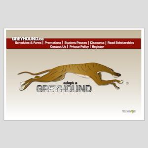 Greyhound Busline Poster C