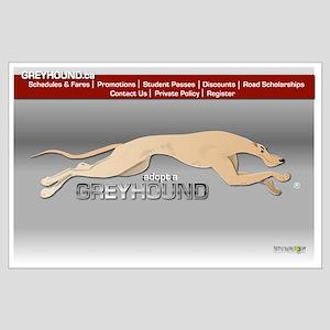Greyhound Busline Poster D