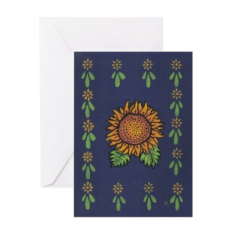 Sunflower - Greeting Card