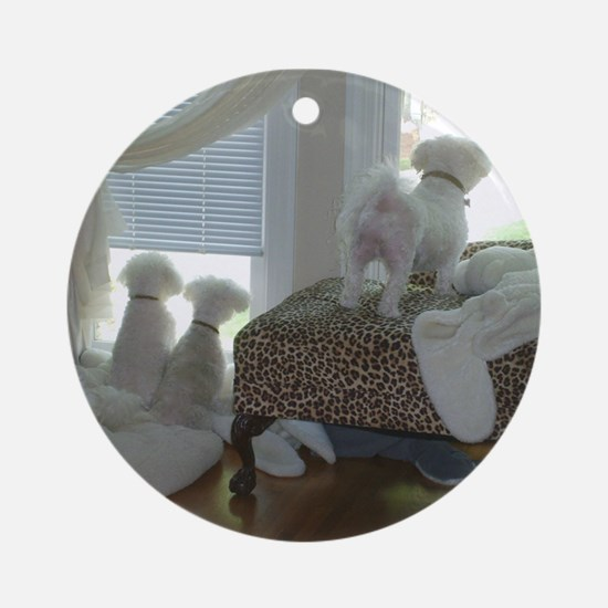 COMING HOME ORNAMENT (ROUND)