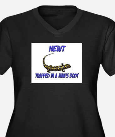Newt Trapped In A Man's Body Women's Plus Size V-N