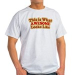 awesome 7 Light T-Shirt