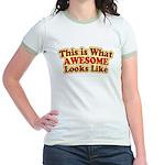 awesome 7 Jr. Ringer T-Shirt