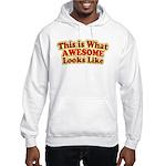 awesome 7 Hooded Sweatshirt