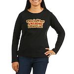 awesome 7 Women's Long Sleeve Dark T-Shirt