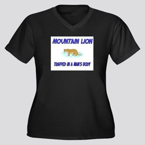 Mountain Lion Trapped In A Man's Body Women's Plus