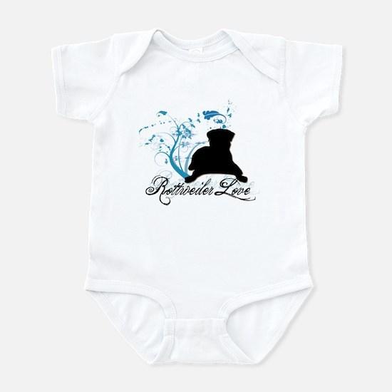 Rottweiler Love Infant Bodysuit