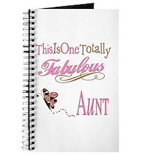Fabulous Aunt Journal
