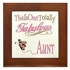 Fabulous Aunt Framed Tile