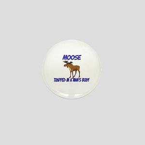 Moose Trapped In A Man's Body Mini Button