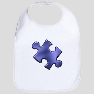 Puzzle Piece Ala Carte 1.4 (Blue) Bib