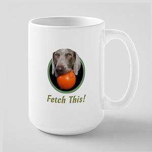 June--Fetch This! Large Mug
