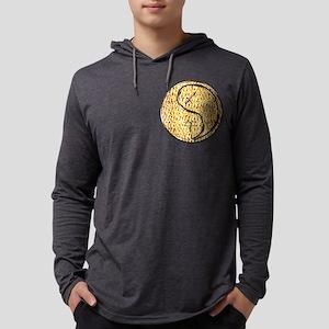 Sagittarius & Fire Horse Mens Hooded Shirt