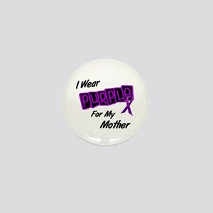 I Wear Purple 8 (Mother) Mini Button