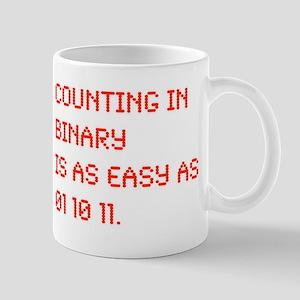Counting in Binary Mug